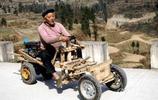 佩服這些民間牛人啊,最後一圖的老漢拉車真是厲害