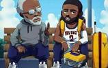 NBA老照片:凱里·歐文 (德魯大叔)