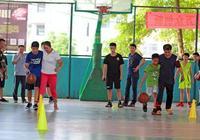 父親節,跟爸爸一起打籃球——記梓祿晴天廣西籃球訓練營籃球親子公益活動