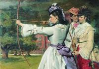 威廉 鮑威爾油畫