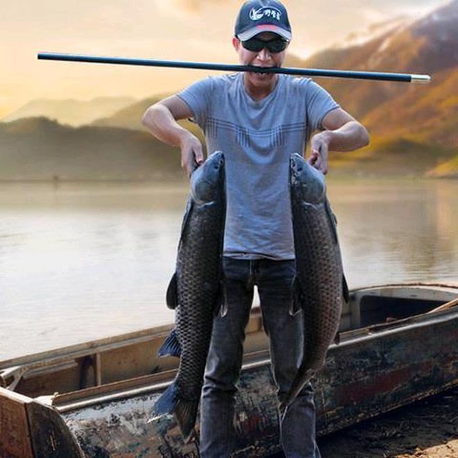 """建議大家:釣魚別再打窩了,幾毛錢藥片""""丟水裡,半天捕獲百斤魚"""