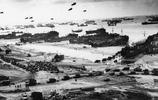 D日圖像記住諾曼底著陸,紀念諾曼底海灘七十三週年