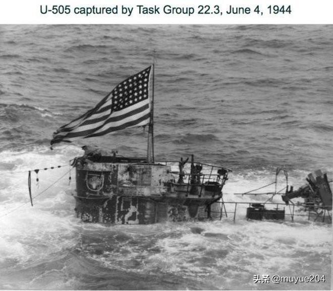 怎麼有一艘同時掛著納粹和美國國旗的潛艇?二戰趣聞:俘獲U-505