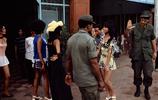 南越時期西貢往事 街頭的美國大兵