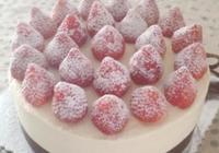 奶油草莓蛋糕:36圖附抹面技巧