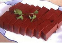 吃血豆腐有什麼好處?
