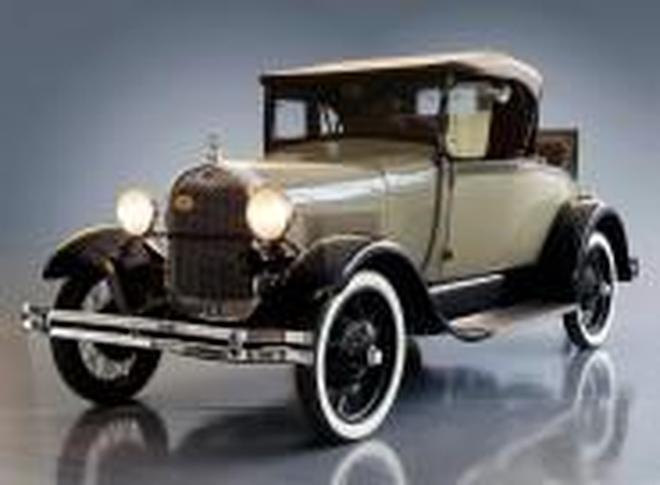 汽車圖集:各式的老爺車