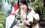 英雄聯盟:cosplay豹女,不知道能不能變成小豹子