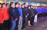 上港俱樂部與上海綠地申花俱樂部在東方明珠塔出席相關活動