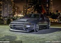 地下狂飆!豐田AE86 帶你重溫極品飛車