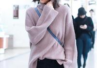 劉雯美起來不低調,丸子頭搭配毛絨外套時髦又溫暖,盡顯高級感