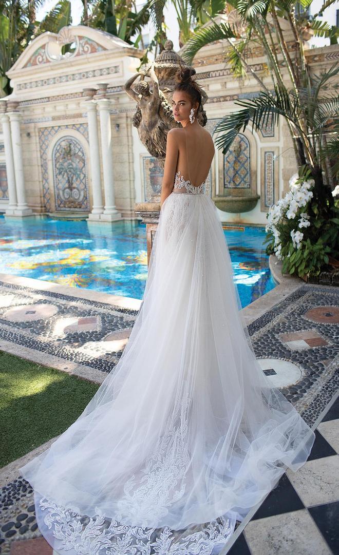 以色列著名婚紗品牌Berta釋出邁阿密系列婚紗大片