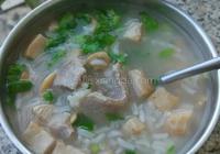魷魚瘦肉粥