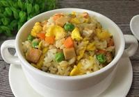 彩色炒飯最正宗的做法炒飯