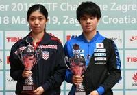 乒乓球克羅地亞賽接近尾聲:日本男隊慘敗連連,女隊提前奪2冠軍