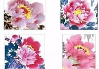 中國畫牡丹花頭的畫法,步驟詳解,很實用收藏起來!