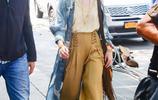 小美女範寧和傻臉娜在紐約出街,今天真的有被Elle美到了