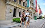 青島民國風情街有望成網紅,影視拍攝婚紗照美女們都來打卡