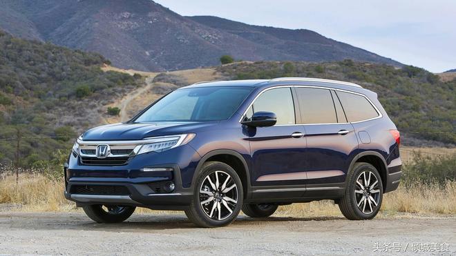 全新大型豪華七座SUV,2019款本田Pilot賞析,美版售價32445美元