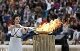 希臘雅典:2018年冬奧會火炬點火儀式舉行