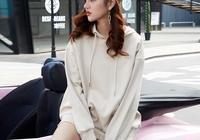 新款韓版女學生外套衛衣,穿出學生的潮流