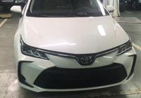 全新豐田卡羅拉實車亮相 比本田思域大氣 搭1.8L混動系統油耗更低