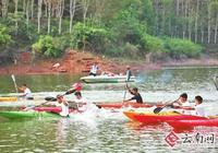 全國皮划艇熱帶雨林挑戰賽在西雙版納勐臘舉行