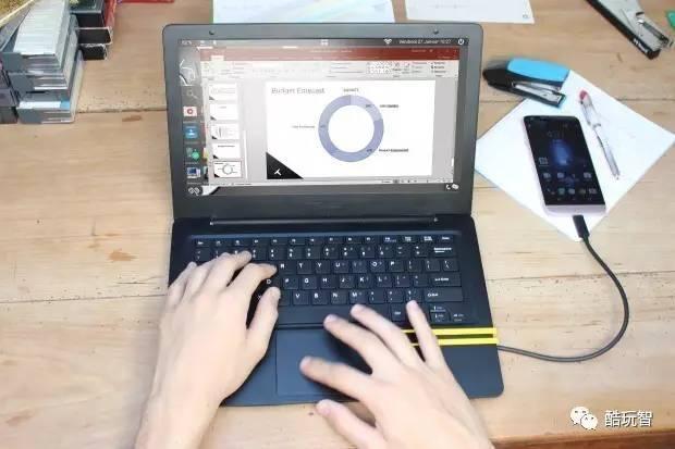 把你的智能手機變成筆記本電腦