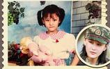 張馨予童年照片曝光,何捷忍不住誇讚老婆:從小就是美人胚子