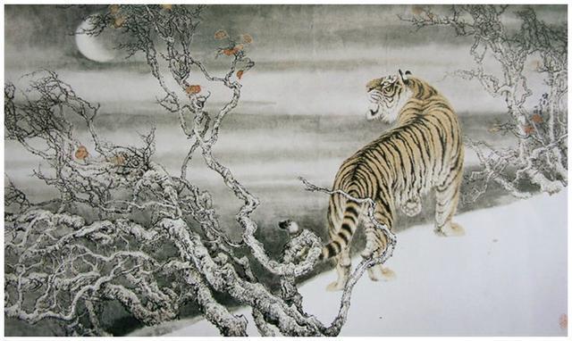 工筆——虎