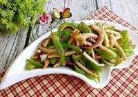 青椒炒魷魚