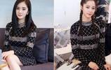 31歲楊冪和17歲歐陽娜娜同框撞衫,網友:大冪冪保養得不輸少女啊