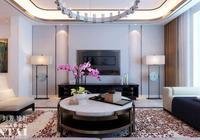 愛TA就給TA最好的家,濟寧陽光盛景園新中式風格的裝修設計案例