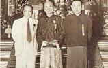 老照片:民國時期的上海青幫三大亨,杜月笙儒雅,張嘯林滿臉橫肉