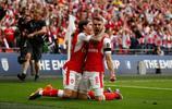 足球——英格蘭足總盃:阿森納戰勝切爾西奪冠