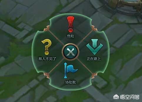 LOL中的信號被中國玩家玩出了不同的意思,問號居然有10種不同的含義!你遇到過嗎?