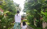 張梓琳晒與女兒度假照 胖妹身高齊媽媽腰間長腿矚目