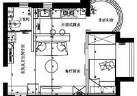 北漂姑娘的溫馨小窩,35平米簡約一居室,時尚大氣!
