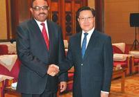 王東明尹力會見埃塞俄比亞總理海爾馬里亞姆一行