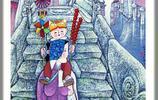 胥後峰繪畫作品——《童年的故事》