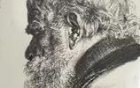 世界著名的素描大師門採爾人物肖像作品欣賞