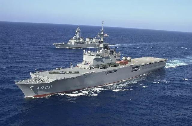 """日本計劃將""""出雲""""號直升機母艦改裝為航母,並且讓F-35B上艦"""