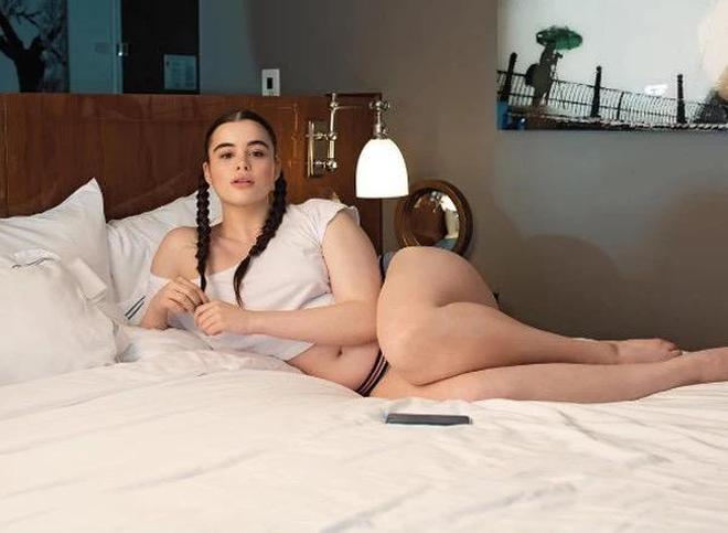 直擊180斤美國胖美人,渾身的肉都很懂事,不只是胖對了地方