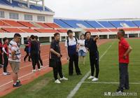 中國足協裁判對足球賽場最後一次檢查
