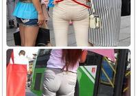 看街拍才發現,大多數女生這樣穿打底褲不自知,真的醜出天際了