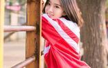 戶外攝影:校服美女的靚麗元氣寫真,青春朝氣!