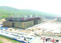 """天水建築業的""""超級航母"""" 天水會展中心5月底完工"""