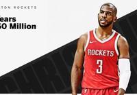 4年1.6億頂薪合同大?火箭隊老闆2年狂賺20億!一場比賽賺750萬!