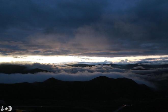 青海自駕遊,雙彩虹與日落同時出現,美到窒息