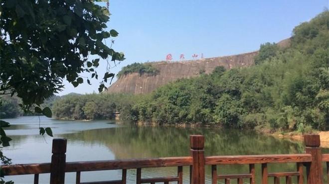 """風景圖集:飛天山,紅山綠水、被譽為""""郴州明珠湘南桂林"""""""